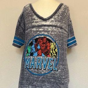Marvel's Avengers - Gray Sheer T-shirt (Large)